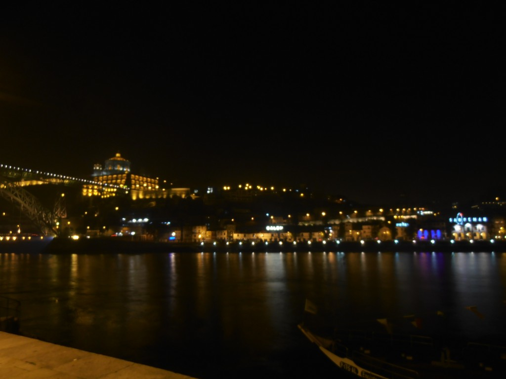 The Port Lodges in Villa Nova de Gaia on the other side of the Douro from Porto