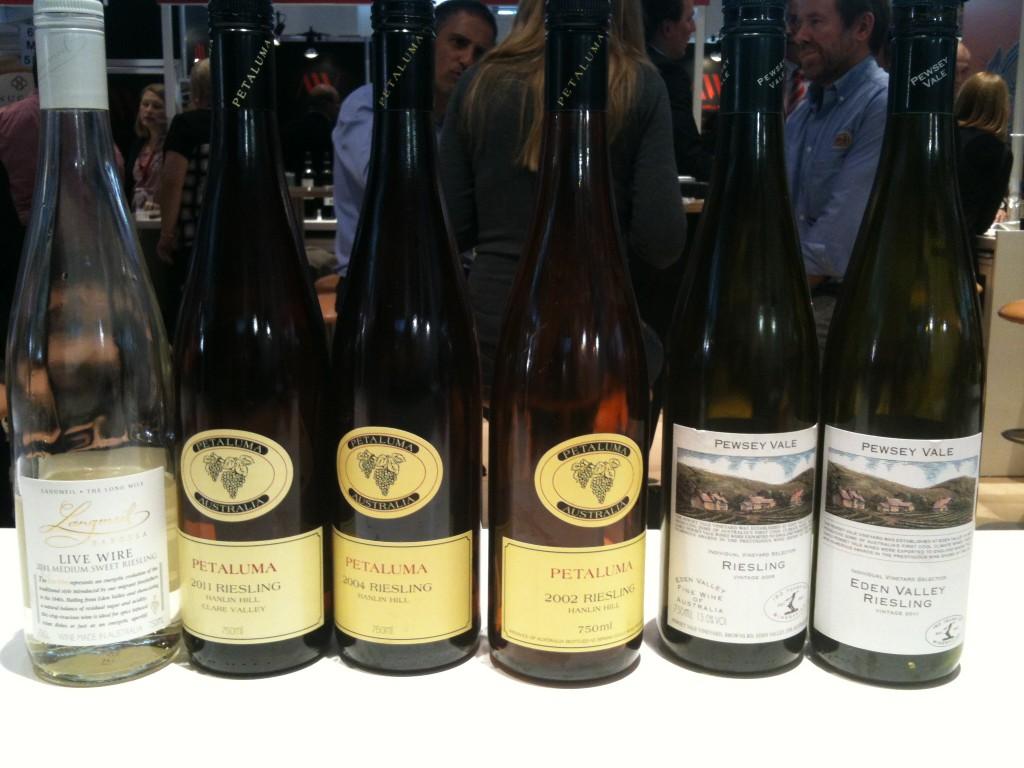 Wine Australia's Trail Riesling Tasting