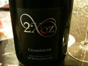 Fabrice Pouillon's 2004 2XOZ