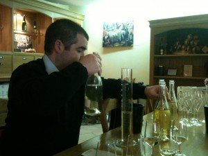 Blending BAM experiment with Benoit Tarlant