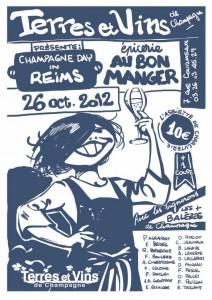 Terres et vins de Champagne Champagne Day poster