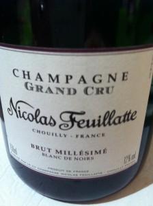 Champagne Nicolas Feuillate 2004 Blanc de Noirs Grand Cru