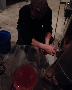 The amazing bioenergetic rosé de maceration in the making